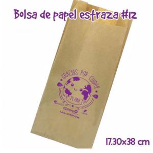 Bolsa papel Estraza Ecopipo