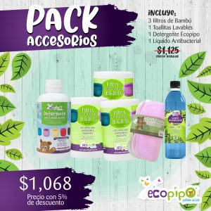 Paquete  Accsesorios Ecopipo