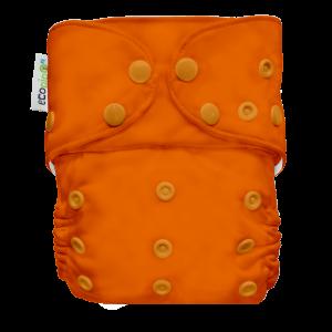 Pañal G4 Liso Broches  naranja